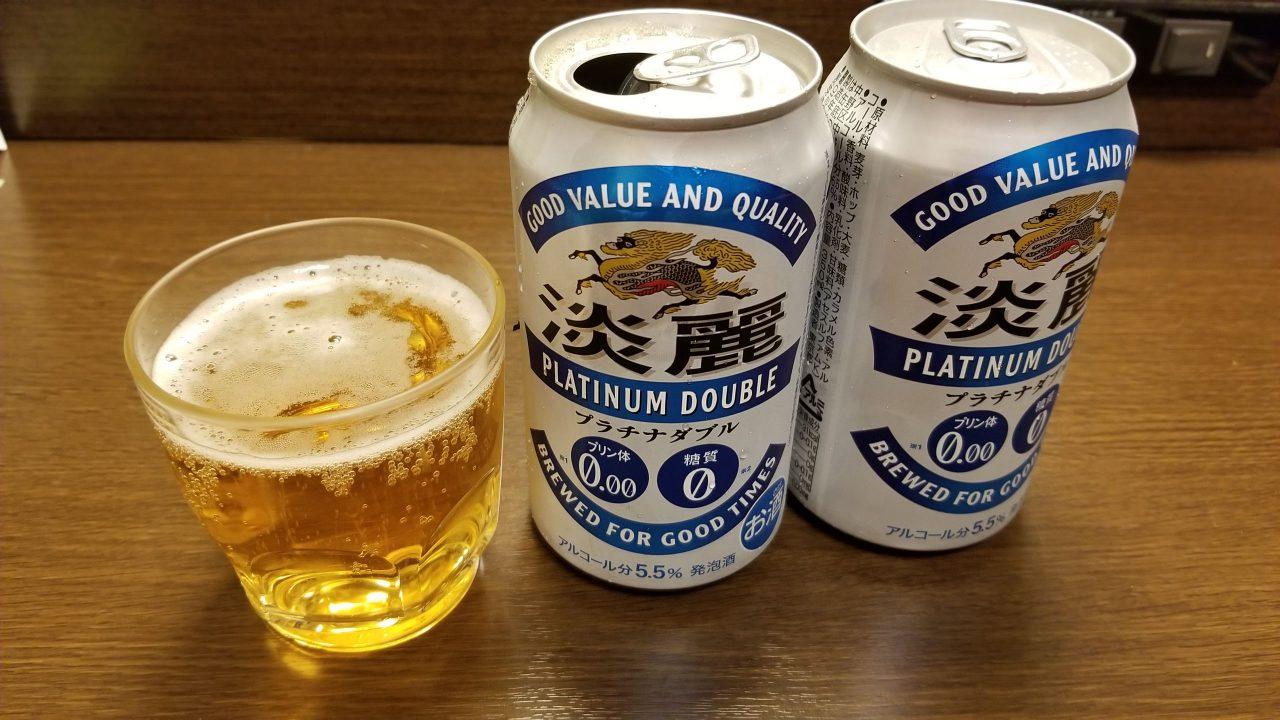 キリン淡麗プラチナダブル(ビール/発泡酒)_20181109_213011